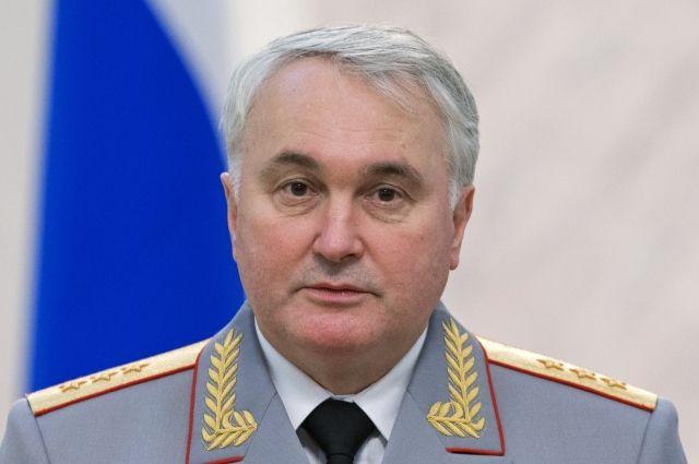 Начальник главного военно-политического управления ВС РФ Андрей Картаполов.