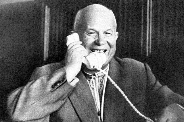 Никита Хрущёв. 1961 г.
