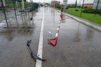 Немец на авто прорвался через шлагбаумы на территорию Украины с Польши