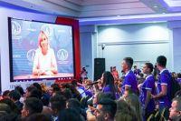 Мария Заварова ответила на вопросы участников молодежного форума «Евразия».