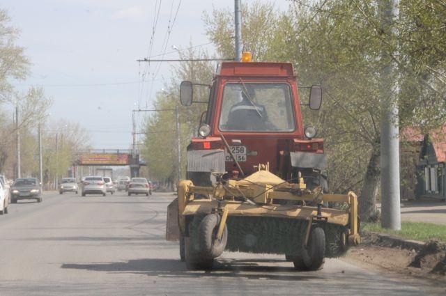 На омских дорогах станет чище.