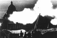 Ленинград возле Исаакиевского собора, 1941 год.