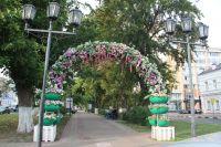Арки из искусственных цветов и пластиковых тазиков – сомнительное достижение ульяновского дизайна.