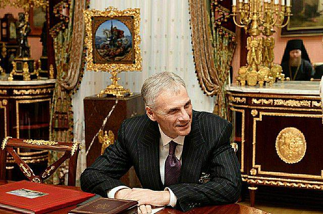 Экс-губернатор Сахалина Александр Хорошавин.