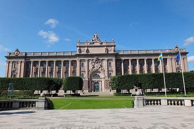 Парламент Швеции.