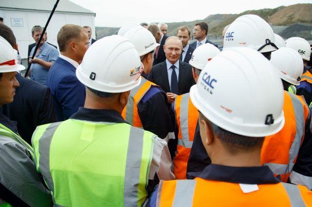 После приезда президента в Кузбассе начали решать жилищные проблемы, о которых говорили горняки.