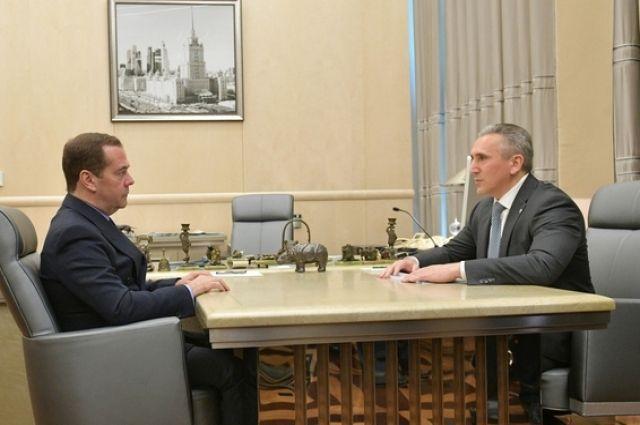 В Москве состоялась встреча Дмитрия Медведева и Александра Моора