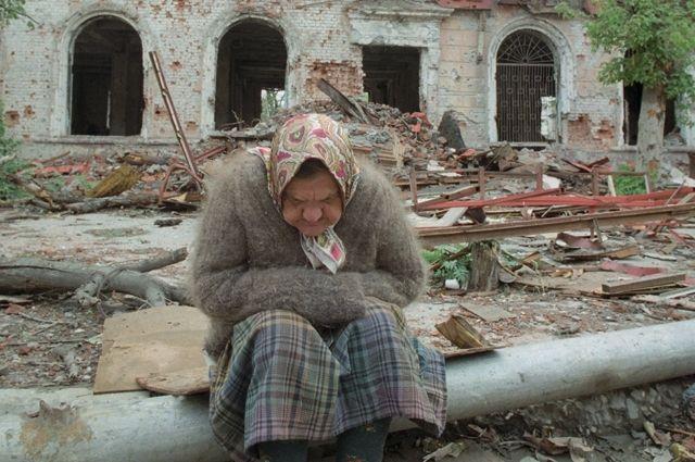 В Грозном в те годы было страшно.