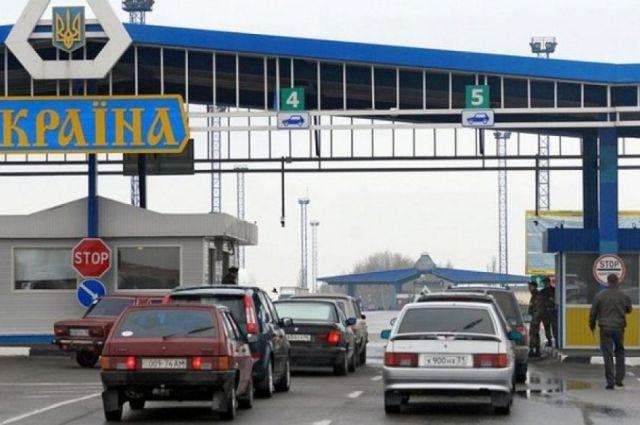 Под Одесской молдаванина не пустили через границу из-за георгиевской ленты
