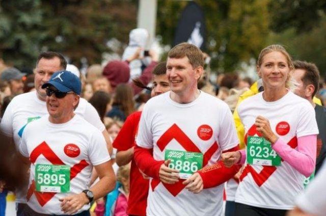 В прошлом году Максим Решетников также пробежал одну из дистанций марафона.
