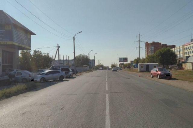 В Оренбурге водитель «Лады Гранта» сбил 11-летнего ребенка на «зебре».