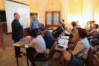 В дальнейшем практические занятия со слушателями будет проводить главный редактор газеты «Биробиджанер Штерн».