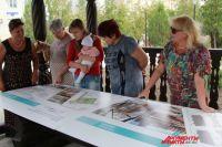 Жители дома Новый 1-й г. Таганрога обсуждают планы по озеленению двора.