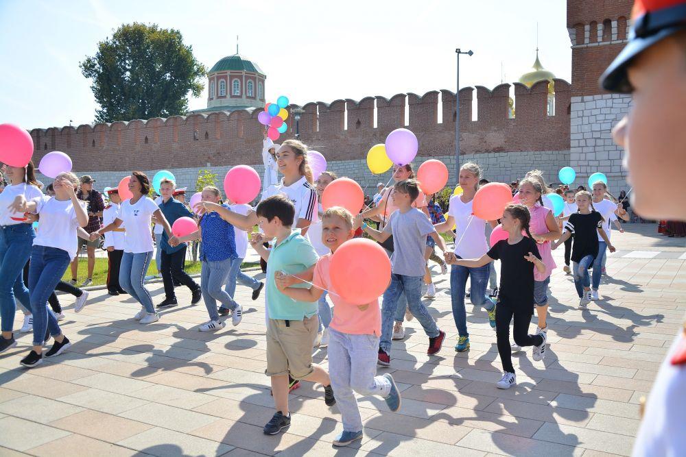 Торжественное открытие Казанской набережной