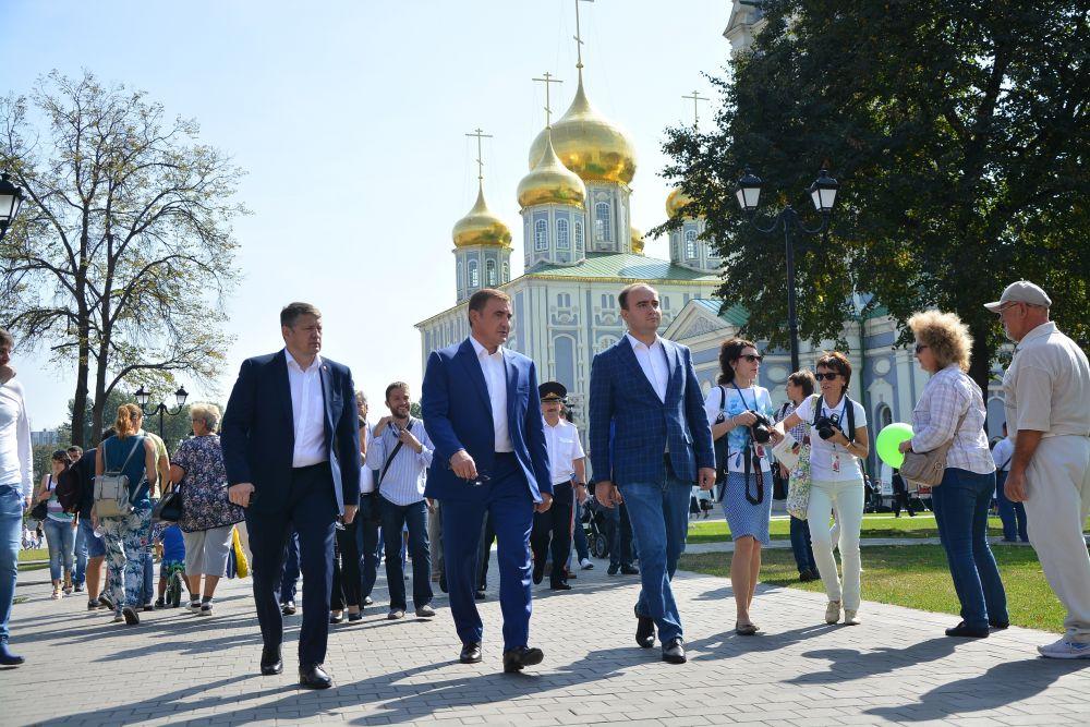 Губернатор Тульской области в кремле