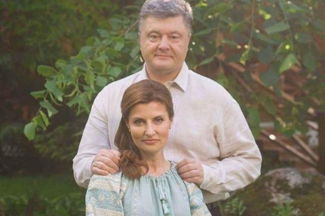 «Янтарная» свадьба Петра и Марины Порошенко: пять фактов о семье президента