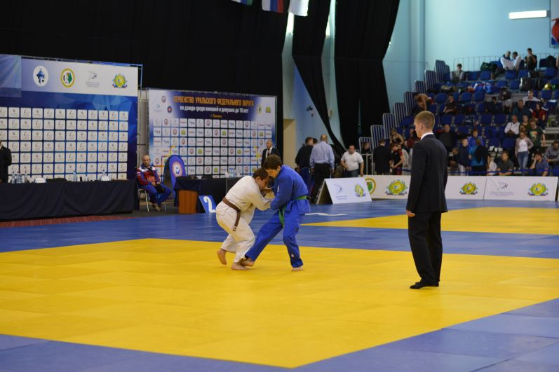 Соревнования по дзюдо в Тюмени, 2018 год.
