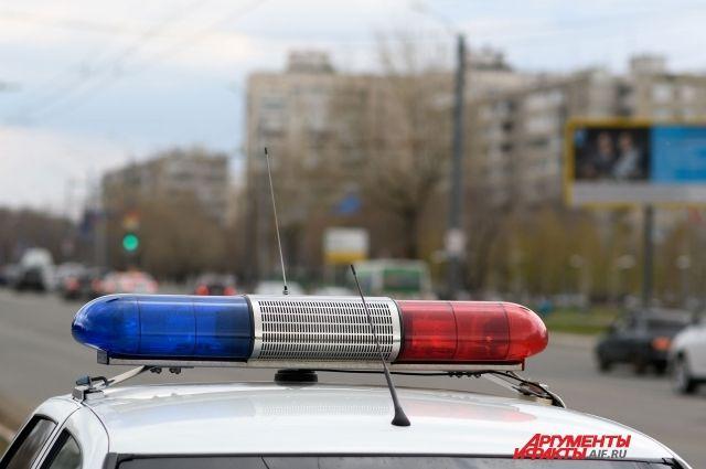 Соцсети: в Оренбурге на Загородном шоссе в ДТП попала машина полицейских.