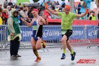 Дождь не помешал спортсменам.