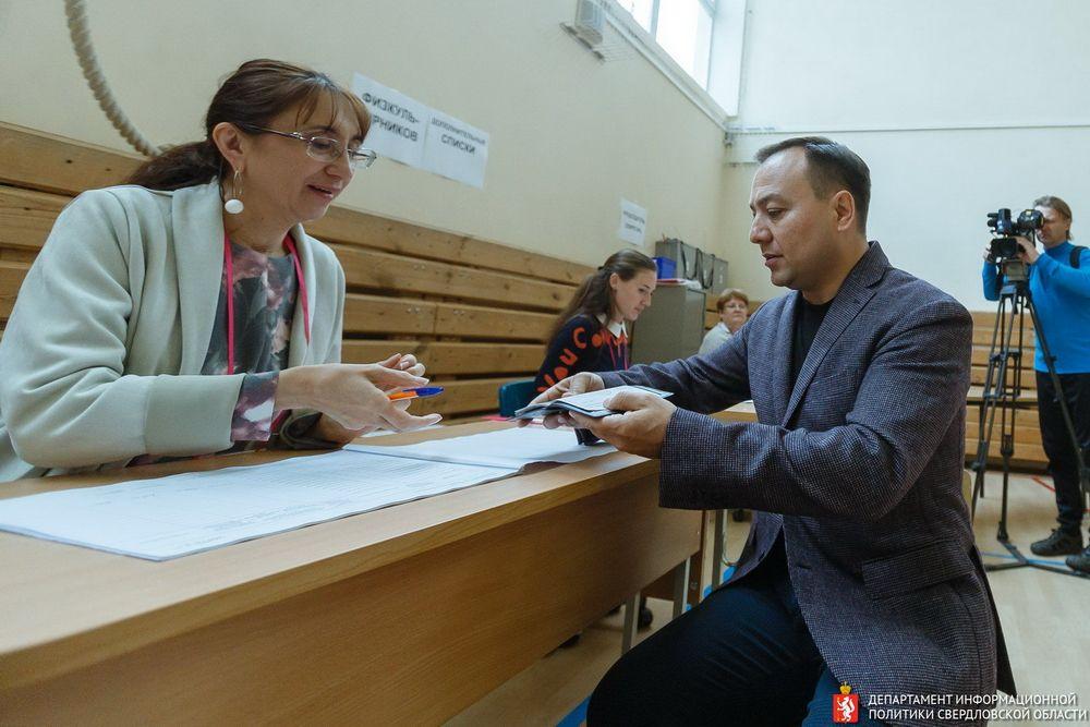 Новый руководитель администрации губернатора Свердловской области Азат Салихов.