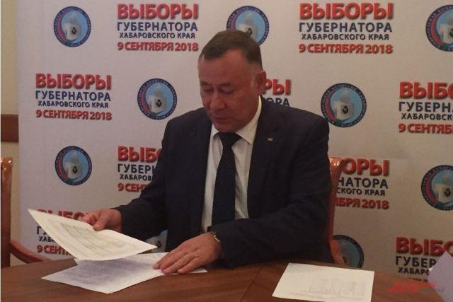 Геннадий Накушнов считает, что до конца дня на участки подойдет не более 2% избирателей