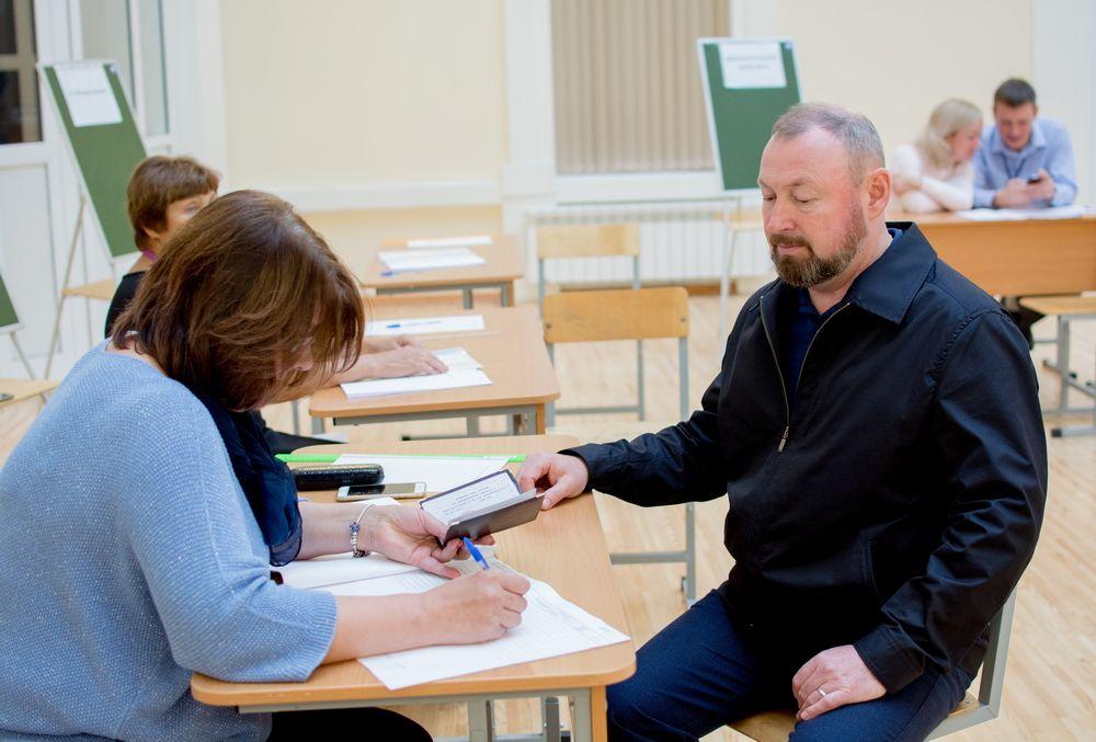Исполняющий обязанности мэра Екатеринбурга Виктор Тестов.