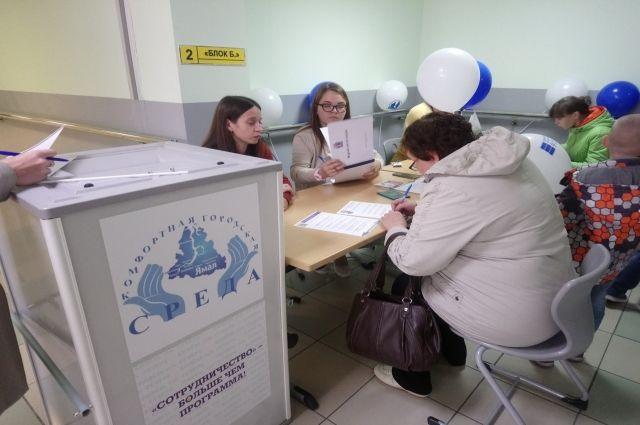 В Салехарде в 16 часов явка избирателей составила 48,48%