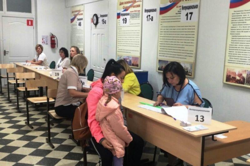 К 14:00 почти четверть югорчан уже проголосовала.