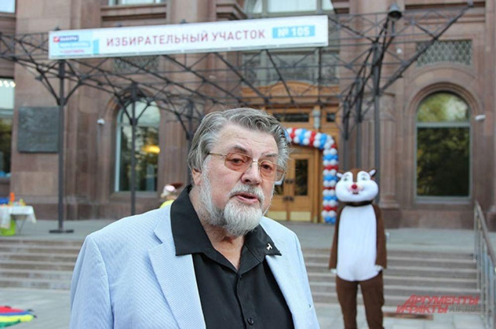 Актёр и режиссёр Александр Ширвиндт.