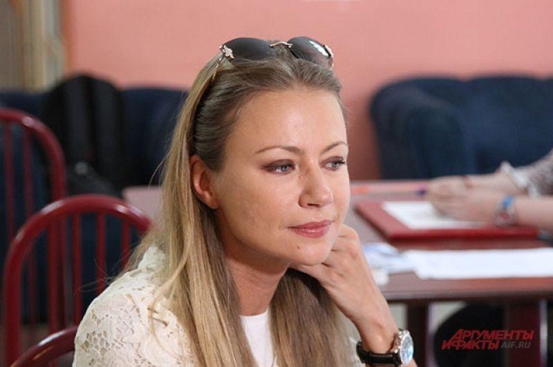 Актриса Мария Миронова.