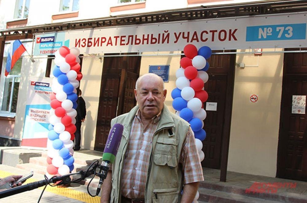Театральный критик Михаил Швыдкой.