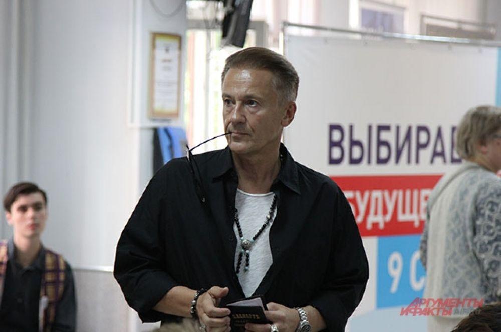 Актёр Олег Меньшиков.