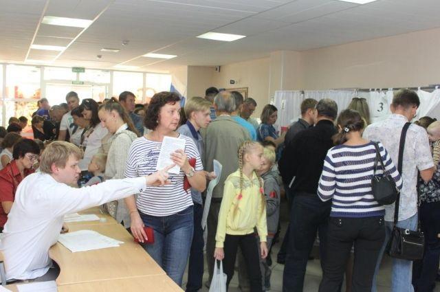 Явка на выборы депутатов областного Совета пятого созыва оказалась выше, чем в прошлый раз.