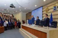 Александр Моор выступил на церемонии инаугурации губернатора Ямала