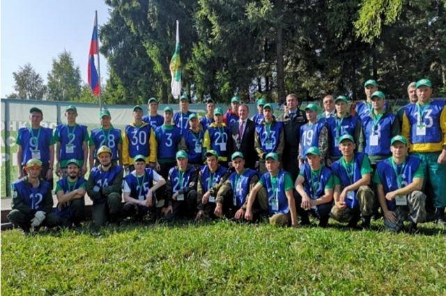 Представитель Ямала – в тройке лучших лесных пожарных России