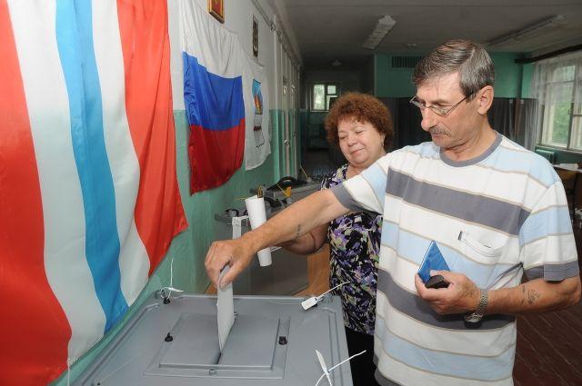 На выборы пришли 42% избирателей Омской области.