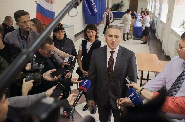 Более 75% жителей юга региона выбрали Александра Моора