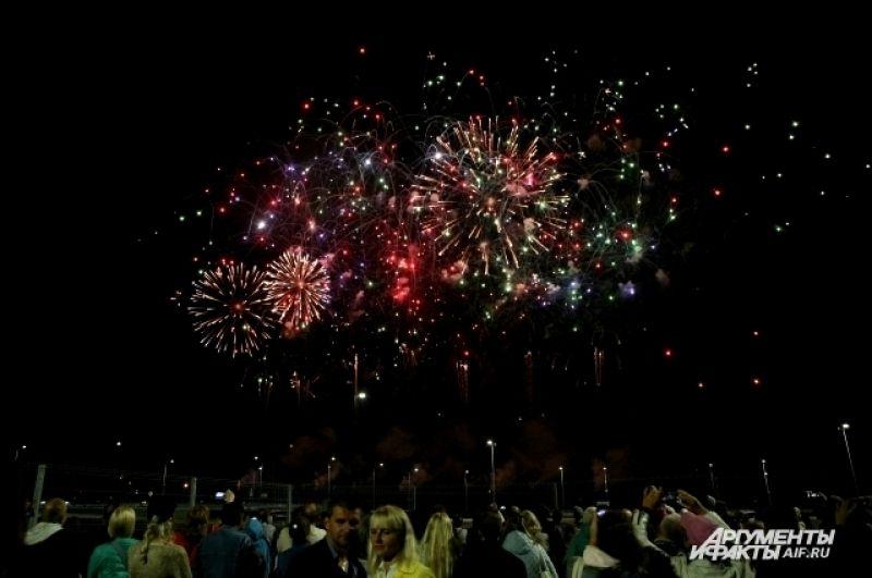 Аналитическое агентство включило фестиваль фейерверков в первую пятерку туристических событий начала осени.