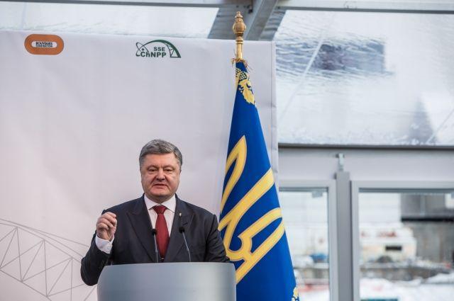 Украина делала перехваты данных с иностранных спутников, - Порошенко