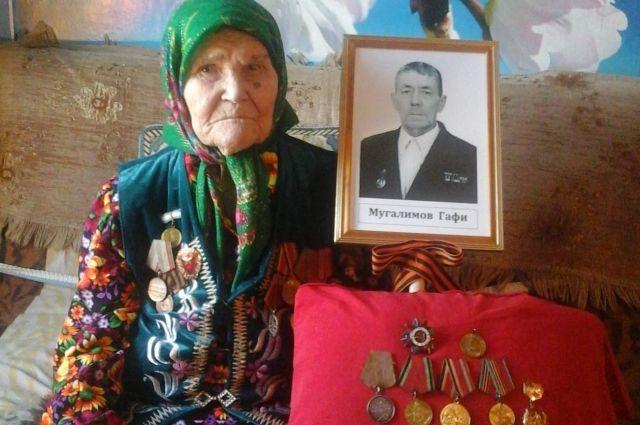 Закие Мугалимове из Усть-Турки Кунгурского района исполнилось сто лет.