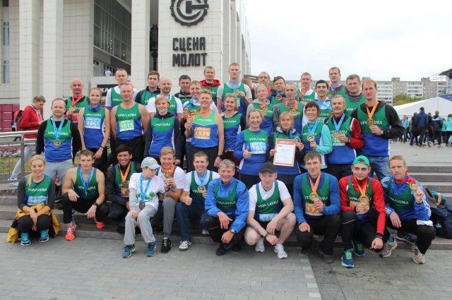 Спортсмены филиала «ПМУ» участвуют в Пермском марафоне во второй раз.