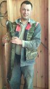 23. Салтанов  Евгений Владимирович. Эту щуку выловил в  реке Коса  в  конце июля 2018 года, вес  рыбы  составил 5,8 кг., длина  рыбы - 90 см.