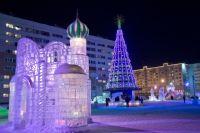 Новоуренгойцы выбирают за тематику ледового городка