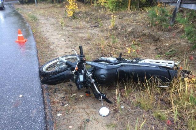 В Ноябрьске выяснили обстоятельства гибели мотоциклиста возле лыжной базы