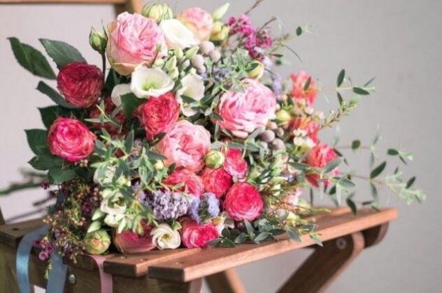 Преимущества покупки цветов онлайн