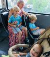 Виктор (4,5 года), Егор (3 года) и Владислав (8 месяцев) Емцовы, Ставрополь