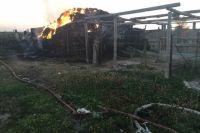 В Кваркенском районе на пожаре 5-летний ребенок получил ожоги, не совместимые с жизнью.