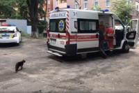 В Киеве неизвестный стрелял по прохожим во дворе дома: есть раненая