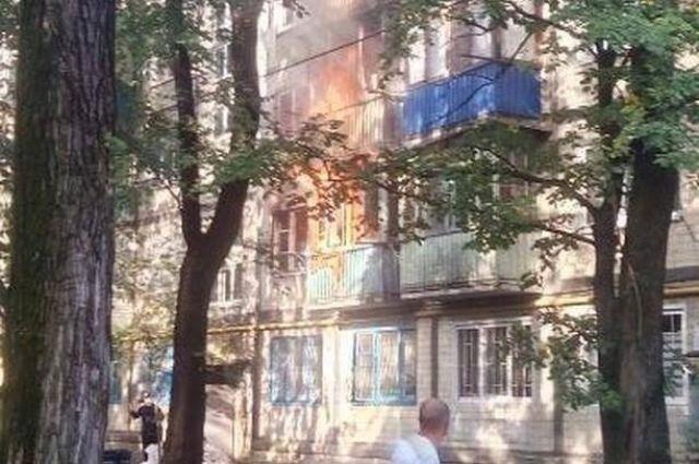 В многоэтажном доме Киева прогремел взрыв