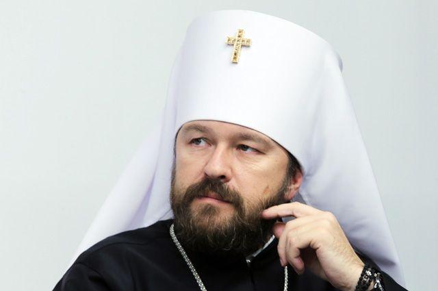 Митрополит Волоколамский, председатель Отдела внешних церковных связей Московского Патриархата Иларион.